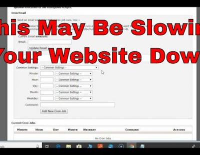 How WP-Cron.PHP Can Slow Your Website Down